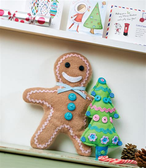 felt gingerbread pattern upcycled felt gingerbread man free sewing patterns sew
