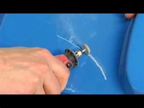 polyester boot repareren youtube zelf gelcoat repareren of herstellingen aan gelcoats met