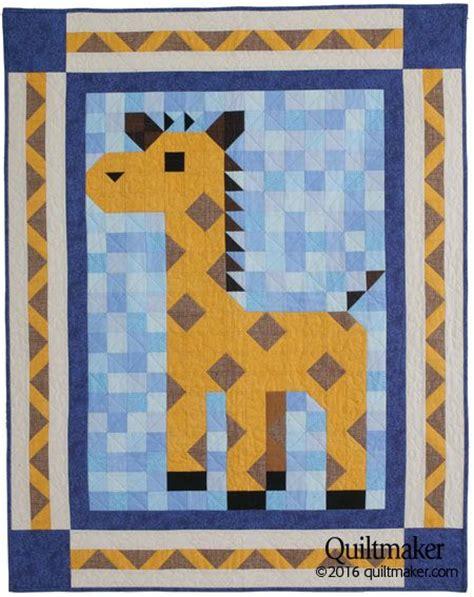 quilt pattern giraffe lanky patch quilt kit a sweet giraffe has joined the