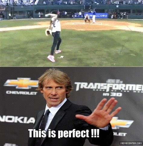Michael Bay Meme - if michael bay directed a sports movie by klanwarayparxw