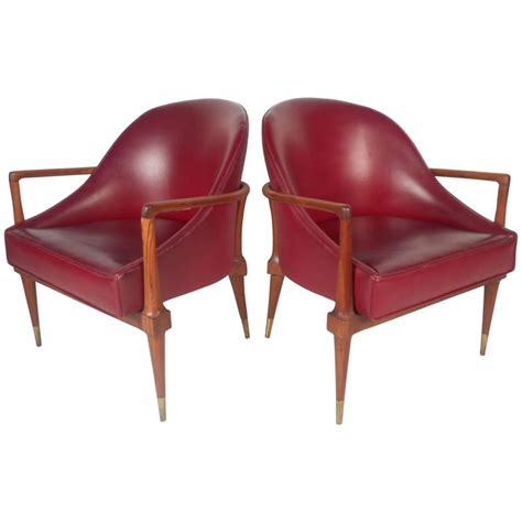 unique chairs for sale unique pair of mid century modern walnut side chairs for