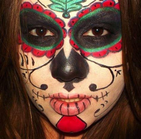 imagenes de calaveras verdes maquillaje halloween fotos maquillaje calavera foto