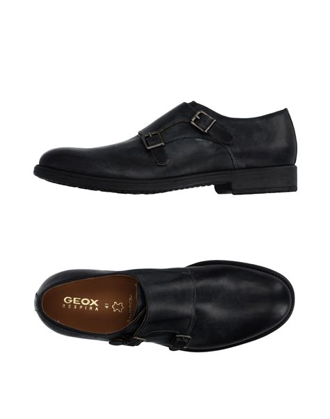 geox loafer geox loafer in black for lyst