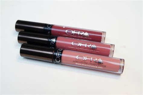 Lipstik Ofra manny x ofra liquid lipsticks in aries charmed and hypno