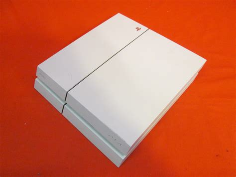 broken playstation  ps glacier white gb video game