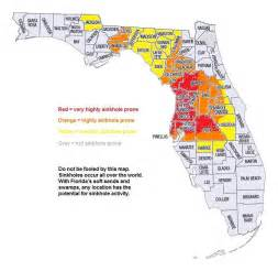 Sinkhole Map Florida by Maps Of Sinkhole Homes Sinkhole Maps In Florida And The