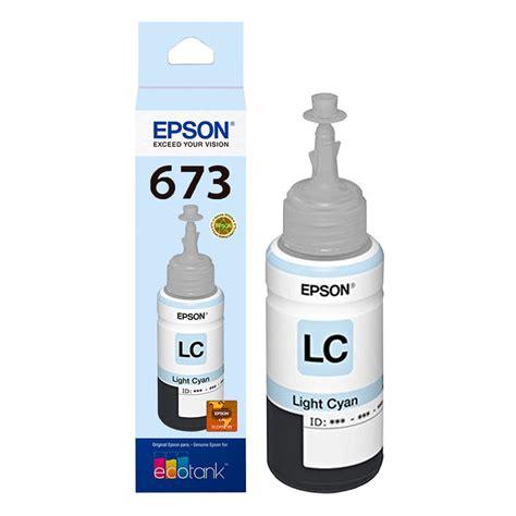 Tinta Epson L1800 Tinta Epson L800 L805 L810 L1800 Ciano Original 70ml