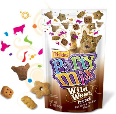 Snack Kucing Friskies Mix Cat Treats friskies mix cat treats west crunch 2 1 oz bag
