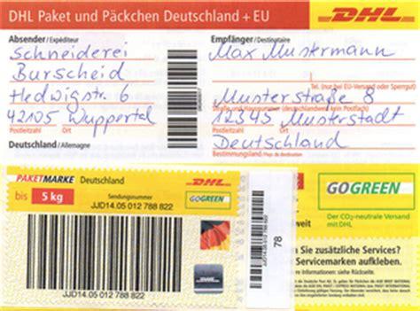 Anschreiben Rucksendung tipps zum paketversand