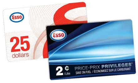Gas Gift Cards Canada - gas station gift cards from esso esso stations in canada groupon