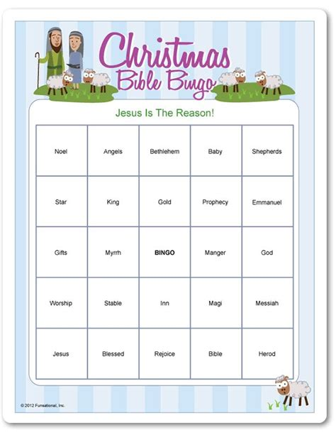 free printable christmas christian games printable christmas bible bingo christmas kids crafts
