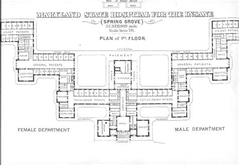 mental hospital floor plan geo yeah