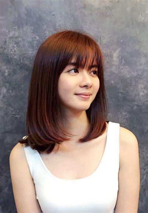 images ofversatile side swept bangs 30 versatile bang haircuts for medium length hairs