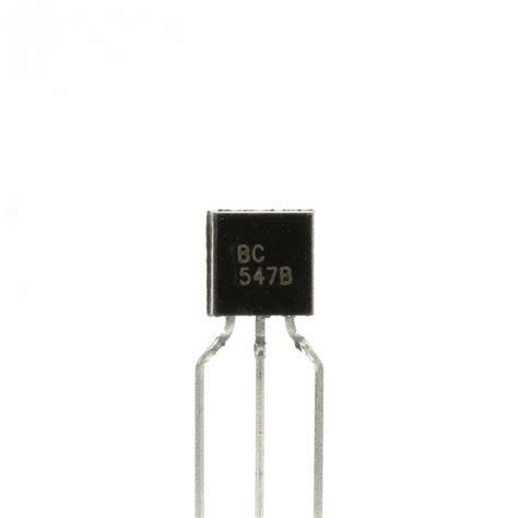 transistor bc 547 c 011 bc547 npn transistor pack of 10 artekit