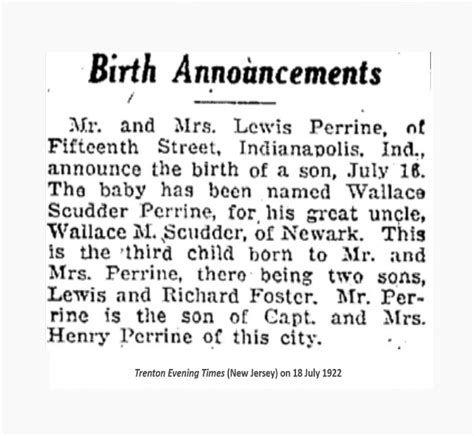 Island Birth Records Newspaper Birth Announcements Records Genealogybank