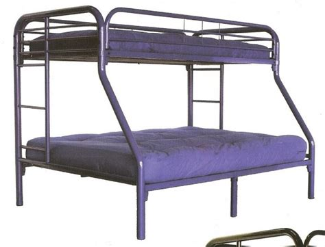 purple bunk bed metal twin over full bunk bed purple all american