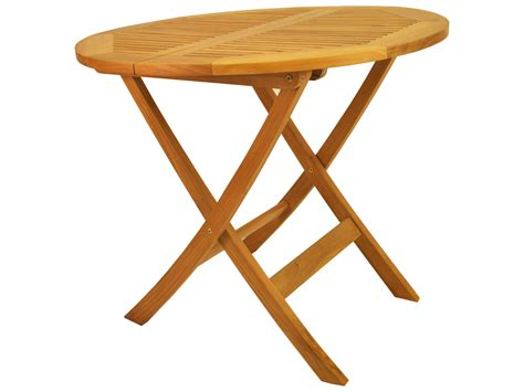 round table anderson anderson teak windsor 31 round folding bistro table