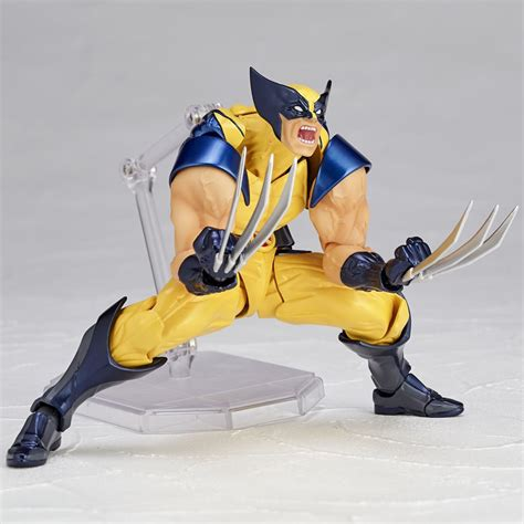Ultimate Deadpool Figures With Shaking X Cool Car revoltech wolverine figure the awesomer