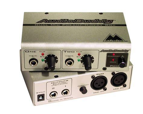 Pre Tone Stereo boxes audio production hardware at studio dave