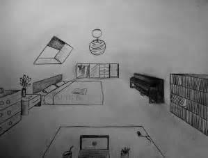 une chambre en perspective le de lespassionsdemimi