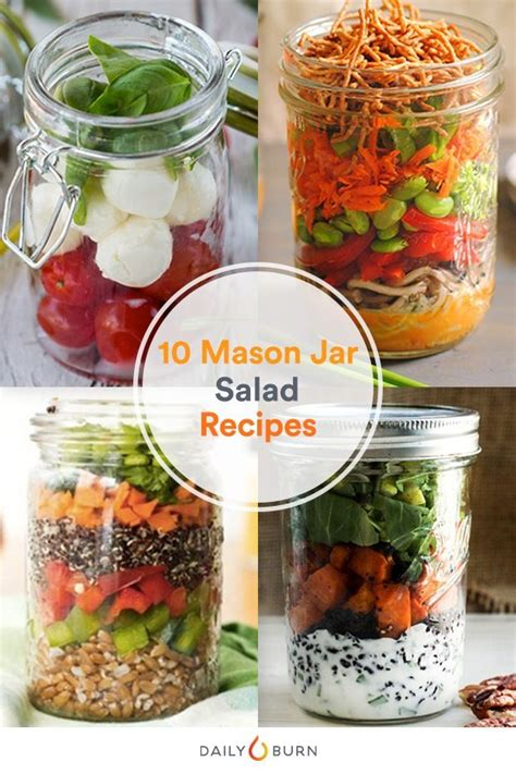 printable salad in jar recipes 540 best images about back to school on pinterest