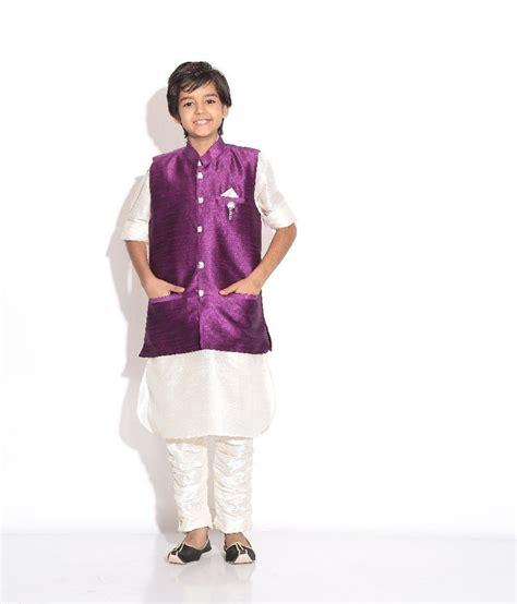 riwaaz cream mehroon color kurta pajama set with jacket riwaaz purple cream color kurta pajama set with jacket for
