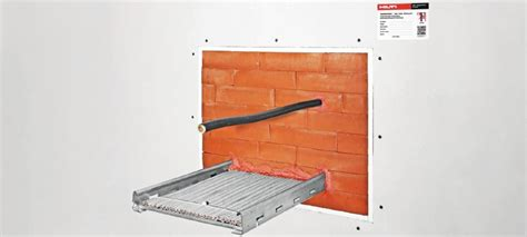 hilti cable tray firestop cfs bl firestop block firestop block and systems