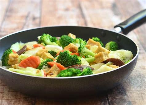 Healthy Recipe Tender Tofu by Chop Suey With Tofu And Shiitake Mushrooms Kawaling