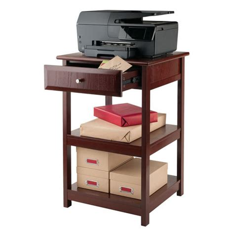 Printer Table With Drawers by Delta Printer Table With Small Drawer And 2 Shelves In