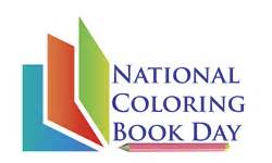 color day national coloring book day