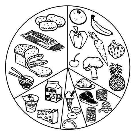 healthy food coloring pages preschool healthy eating list of eating healthy food coloring