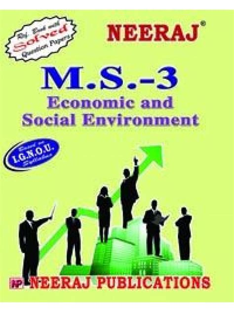 Mba 605 Society Environment by Ignou Ms 3 Economic Social Environment