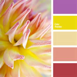 Yellow Color Combination by Bright Yellow Color Palette Ideas