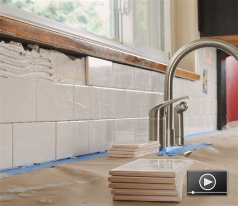 Installing Ceramic Tile Backsplash In Kitchen How To Install Tile Bathroom Bathroom Tile