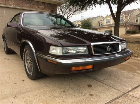 chrysler maserati tc chrysler tc by maserati 1989 used chrysler tc by