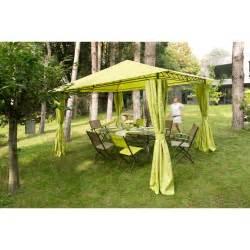 4 rideaux pour tonnelle prado tonnelle parasol