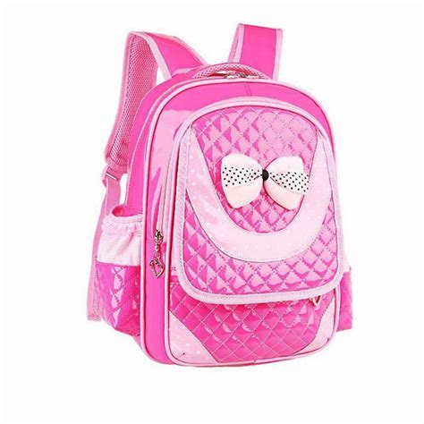 Children Bags Blue new brand backpacks child 2015 quality school bag leather