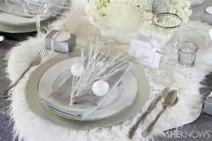 Diy Winter Wonderland Decorations - quel chemin de table pour la table de noel l id 233 e d 233 co