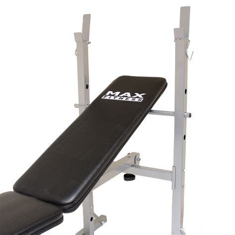 folding weight bench press max fitness folding weight bench home gym exercise lift