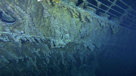 Titanic Wreck Interior by Inside Titanic Shipwreck
