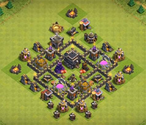 layout coc th5 anti giant 7 best town hall th5 trophy bases anti giants 2018 new