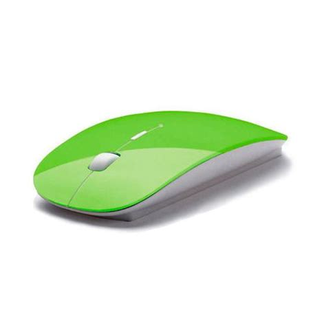 2 4g Wireless Mouse White Intl ybc wireless mouse 2 4g receiver ultra thin mouse for