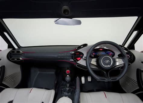Toyota Ft 86 Interior by Toyota Ft 86 Concept Cars Diseno