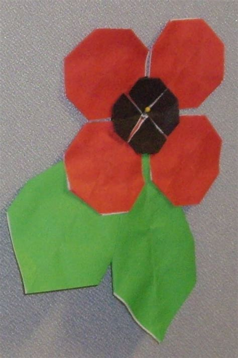 origami poppy origami poppy by ykansaki on deviantart