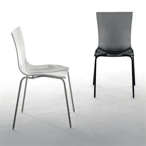 sedia easy calligaris easy 7204 sedia impilabile tonin casa in metallo e