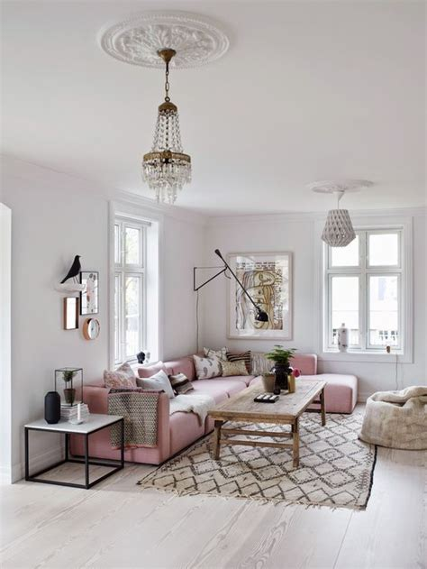 pink sofa living room 25 best ideas about pink sofa on blush grey
