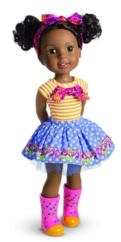 Girlset Doll new american doll line welliewishers