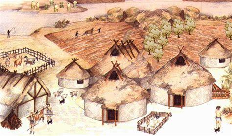 casa etrusca spazi aperti fra i villaggi venivano usati per le attivit 224