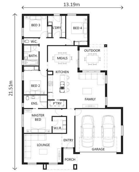 lewis homes floor plans loddon 233 shepparton lewis homes packages