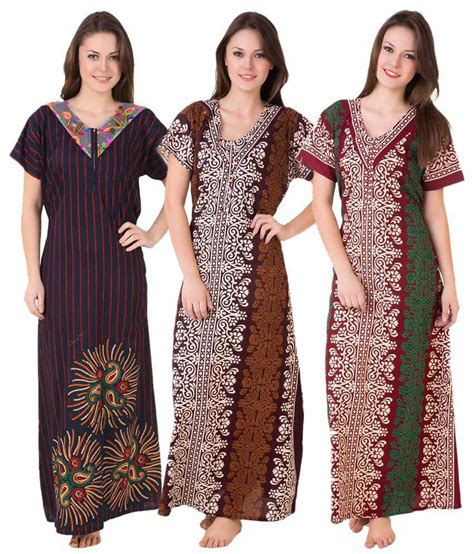 Marsha Set 4 Cantique 1 buy masha cotton nighty gowns at best